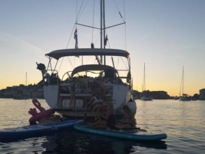 Starting the charter season and cruises in Croatia